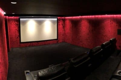 Basement Home Cinema Installed in Radlett