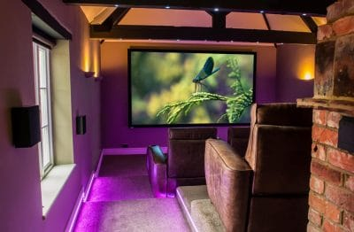 High end home cinemas