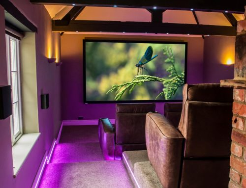Home Cinema Barn Conversion