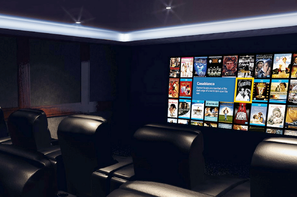 Leading home cinema brands