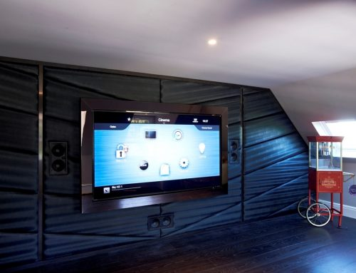 Loft Home Cinema Hadley Wood