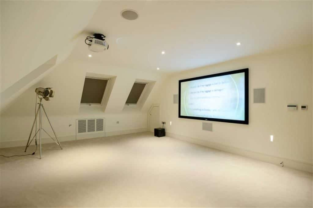 Loft Home Cinema London - Limelight Home Cinemas